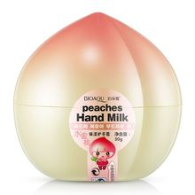 Hot Mango Peaches Milk Hand Cream Water Embellish Hands Wet Hydrating MoisturizingCY2(China)