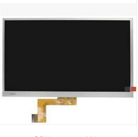 New LCD Display Matrix For 10.1 Supra M12CG 3G TABLET inner LCD Screen Panel Lens Module replacement Free Shipping<br>