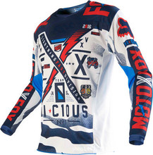 Wholesale Top Motocross jersey Downhill cycling perspiration wicking T-shirts cross country mountain T-shirts Size M-XXXL