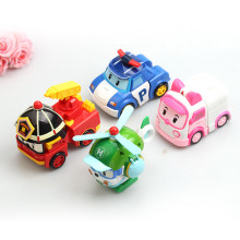 4Pcs/Set Korea Robot Plastic Transformation Toys For Children Car Deformation Educational Birthday Toys Gifts