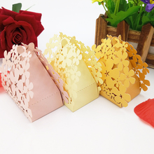 50pcs Candy Box Lovely Gift Bag KAWAYE Boy Girl Party Set Baby Shower Accessories Party Event Products 6ZT37(China)