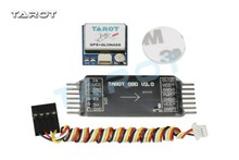 Tarot Multicopter DC6-26V Mini OSD Image Overlay System Transmitter GPS Glonass Module Flight Controller with Connecting Wire(China)