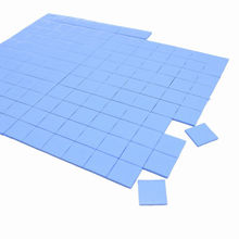 New 81pcs 90mm*90mm*0.5mm Thermal Pad GPU CPU Heatsink Cooling Conductive Silicone Pad high quality