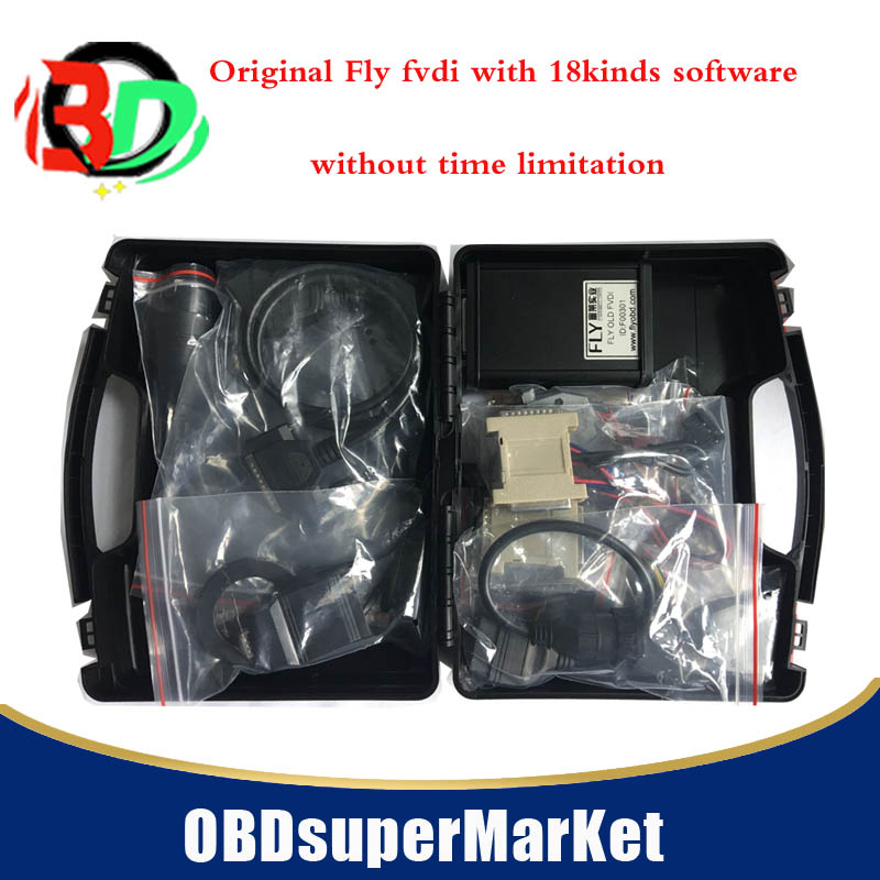 original FLY FVDI Abrites with 18kinds software FULL version FVDI ABRITES Commander with 18 Software Auto Diagnostic Scanner(China)