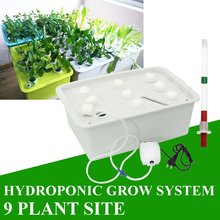 No Soil Cultivation Water Cultivation Plant Vegetable 9 Plant Site Hydroponics Water Cultivation Equipment At Balcony(China)