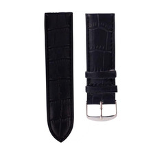 Feitong 26mm Watch Band Bracelets High Quality Soft Sweatband PU Leather Strap Steel Buckle Wrist Watch Band