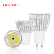 Lampada de led lamp GU10 bombillas led bulb light GU5.3 ampoule led spotlight 110V 220V high power 3W 4W 5W chandelier luz 10PCS