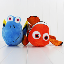 2Styles Finding Nemo Plush Toys Cartoon Animals Nemo and Dory Soft Fish Dolls Kids/Babies Gifts 30cm(China)