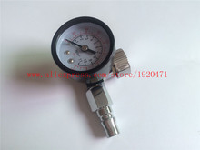New Pneumatic Spray Gun Air Regulator Pressure Gauge Air Regulator Spray Gun Adjustable Regulating Gauge Air Tool