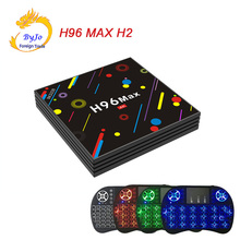 Buy H96 MAX H2 Android 7.1 smart TV box wireless keyboard Rockchip RK3328 Quad-core 4GB RAM 32 ROM Support H.265 UHD BT 4K for $62.62 in AliExpress store