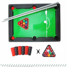 Children's Billiards toy Pool Table Parent-child Toy Mini Kids's Billiards Sports Toy  in American Style Indoor Sports