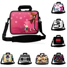 "Pink Girl 10"" Notebook Computer PC Shoulder Bags Pocket 9.7"" Neoprene Tablet 10.1 Briefcase Huawei Chuwi Apple iPad 1 2 3 4"