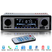 NEW 12V Car Radio Player Bluetooth Stereo FM MP3 USB SD AUX Audio Auto Electronics autoradio 1 DIN oto teypleri radio para carro