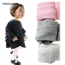 Buy YWHUANSEN 4pcs/lot 2017 New High Kids Tights child Candy color baby Tights girls Cotton newborn baby tights infant for $9.20 in AliExpress store