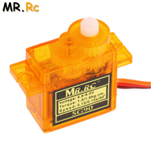 10pcs/lot New High Quality MR.RC Plane Mini Gear Micro SG90 9g Servo For RC Trex 450 Helicopter Swashplate Servo(China)