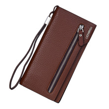 luxury famous brand Leemrgu Women's long purse multifunctional card holder with phone bag Top male Clutch wallet designer pocket