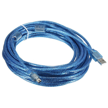 HFES 10M USB 2.0 A Male to Mini 5Pin Male Sync Data Charger Extension Cable Lead Cord(China)