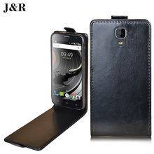 Leather Case UHANS A101 Vetical Magnetic Cover A101S 5.0 inch Luxury Open Phone Bags & Cases - Fashion Supermarket store