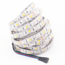 LED Strip Light 5050 RGBW RGBWW DC12V 60 LED/m IP20 IP65 RGB+W/ RGB+WW Flexible LED Light 5m/lot Better Than Smd3528 5630 5730(China)