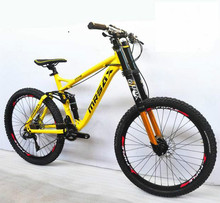 XC/AM/DH 24/27/30 speed 26 inch aluminum frame 26er mountain bicycle man woman bike Hydraulic Disc brakes 4(China)