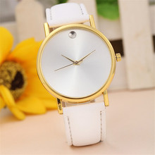 Hot Quartz Watch Simple Dress Retro Design Watch Casual Leather Watches Women Luxury Brand Wrist Watches Clock Relogios Feminino
