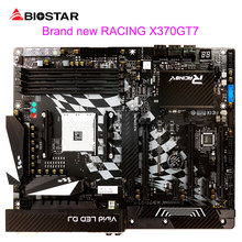 BIOSTAR New Motherboard X370GT7 For AMD Ryzen 1700 1600 9700 ATX Racing Computer Mainboard DDR4 3200 64G Double Hi-Fi Technology