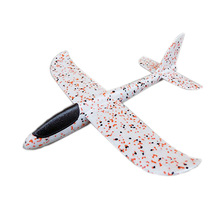 Epp Foam Airplane Model Mini Hand Launch Gliders Plane Diy Toys for Children Kids(China)