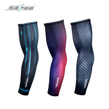 Sun Protection Arm Sleeves UV Resistance Cool Lycra Cover Cycling Sleevelet Arm Unisex Covers Manguito Armwarmer SAHOO 451264