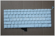 Original US Layout Keyboard For Macbook Pro 13 Inch White US Keyboard A1342 Keyboard
