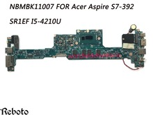 Classy Quality Laptop Motherboard For Acer Aspire S7-392 Motherboard SR1EF I5-4210U 4GB DDR3 100% Fully Tested(China)