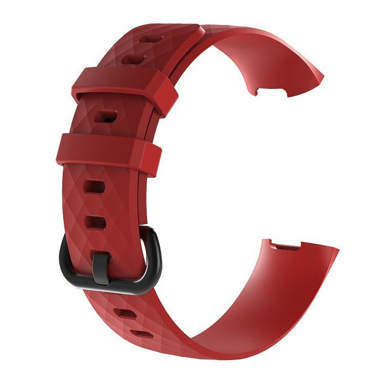 Waterproof Replacement Watch Strap for Fitbit Charge 3  Charge 3 SE Silicone Sport Band Wristband Large Small Women Men (15)