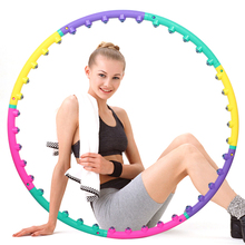 NEW Magnet Fitness Hula Hoop Massage Hoops Hula-Hoop For Children Kid Bodybuilding Women crossfit Hula Hoops(China)