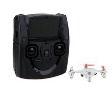 X4 H107D 5.8G FPV Quadcopter RTF 6-axis System RC Mini Drone with 0.3MP Camera LCD Transmitter(China)