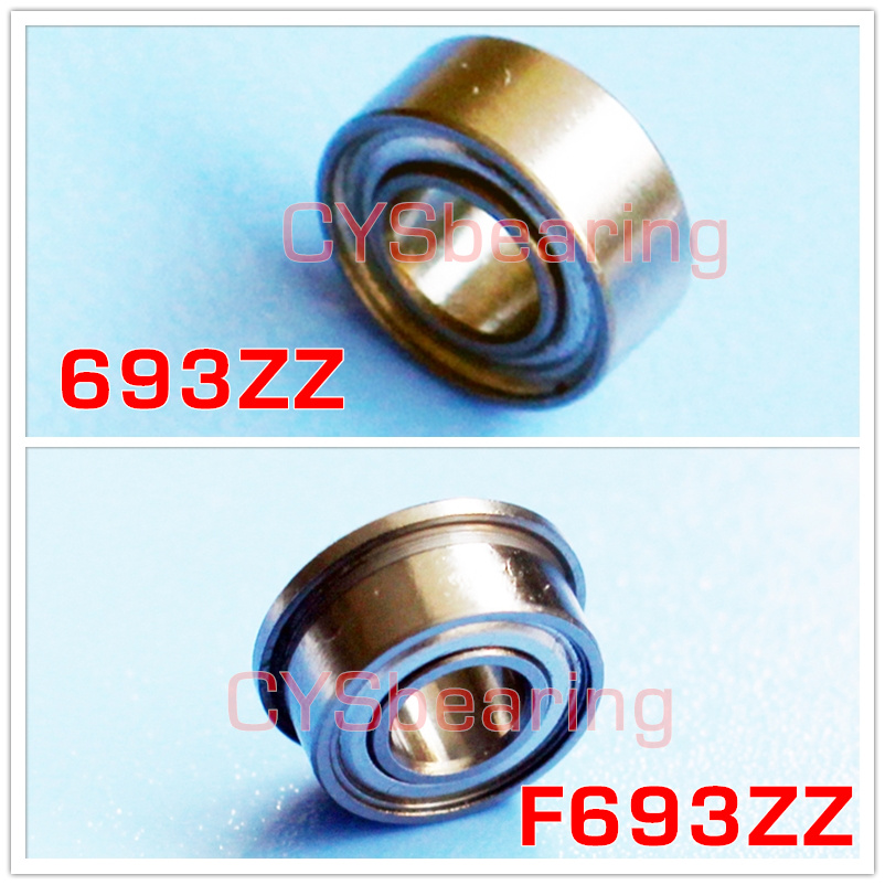 Search For Flights 10pcs F693zz 3*8*4mm Miniature Deep Groove Ball Flanged Cup Bearings 3x8x4mm Online Discount Electronic Components & Supplies Active Components