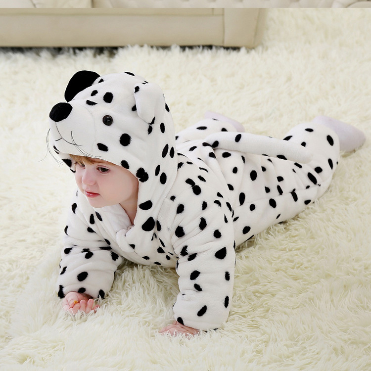Snow leopard cosplay baby clothes for photograph<br>