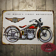 T-Ray The World's Finest motorcycle Genuine Duty Metal Tin Sign Embossed New Garage Bar Shop C-103