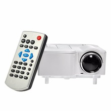 New UC28 Mini Pico Projector Home Cinema Theater Digital LED LCD Projector VGA/USB/SD/AV/HDMI Multimedia Proyector