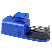 Tobacco Electric Cigarette Rolling Injector Auto Roller Maker Machine Blue PTSP