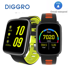 Buy DIGGRO GV68 MTK2502 Smart Watch IP68 Waterproof Bluetooth4.0 Sport Heart Rate Water Clock Message Call Reminder IOS/Android for $36.99 in AliExpress store