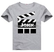 Customized Movie Tee Movie Scene  t shirt for toddler kids children boy girl cartoon t-shirt