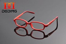Deding Kids Optical Eyeglasses With Spring Hinge, Children Glasses Frame, Teens Glasses, TR90 Safe Flexible Frame Eyewear DD1168