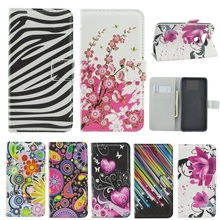 Case For Samsung Galaxy Ace 3 Flip Card Slot stand holder leather soft phone Case For Samsung Galaxy Ace 3 S7270 S7275 S7272(China)