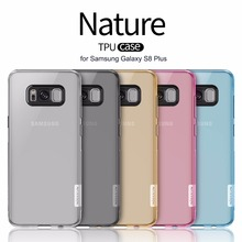 "for Samsung Galaxy S8 Plus Nillkin TPU 0.6mm Ultra thin Phone Case Silicone Cover Crystal Clear Case for Samsung S8+ 6.2"" Case(China)"