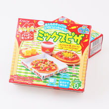 1bag DIY Kracie Popin Cook candy dough Toys.Pizza birthday cake Sushi Hamburger Mokolet Pop Spun happy kitchen Japanese candy(China)