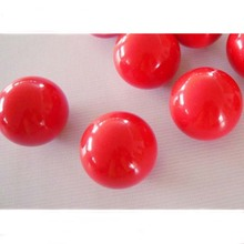 Free shipping 3pcs/lot 52.5mm Red Single ball Resin 2 1/16 inch Snooker Balls Hot Sale Billiards snooker accessories