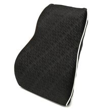 Lumbar Cushion Memory Foam Back Support Home Auto Car Neck Waist Pillow High Grade for Driving Travel Office Seat Chair