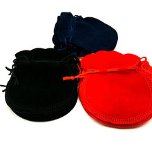 Hot Sale Sale Gift Box Organizer Free Shipping 100pcs 7x8cm  Red Velvet Drawstring Pouch Bag/jewelry Bag,christmas/wedding Bag