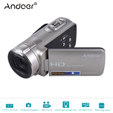 "Andoer HDV-312P 1080P Full HD Digital Video Camera Home-use DV with 2.7 "" Rotating LCD Screen Max. 20 MP 16x Portable Camcorder(China)"