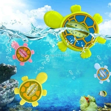 Baby Infant Bath Tub Water Temperature Tester Animal Cartoon Turtle Thermometer BPA Free -B116(China)