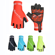 Buy 2017 Cycling Half Finger Gloves Man Women Bike bicycle Anti-slip Gel Breathable Glove road Mountain bike MTB Gloves wrist for $7.98 in AliExpress store